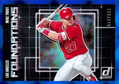 2018 Donruss Baseball Cards 47