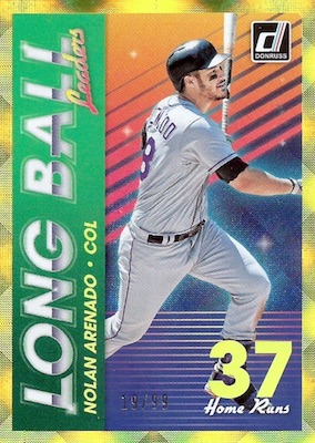 2018 Donruss Baseball Cards 45