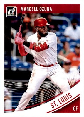 2018 Donruss Baseball Variations Guide 29