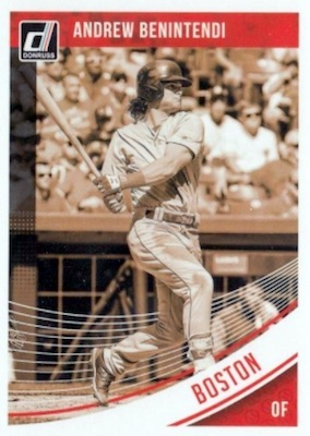 2018 Donruss Baseball Variations Guide 70