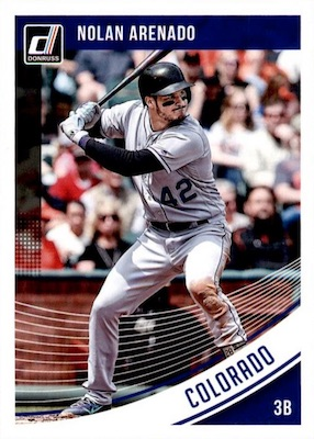 2018 Donruss Baseball Variations Guide 73