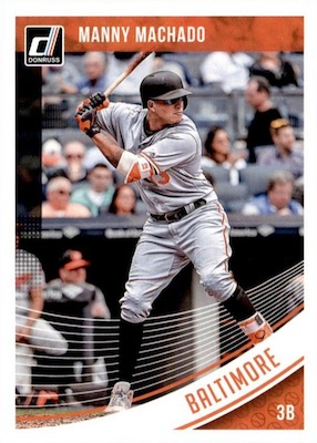 2018 Donruss Baseball Variations Guide 86