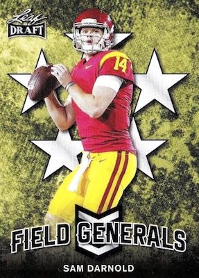 2018 Leaf Draft Football Cards 25