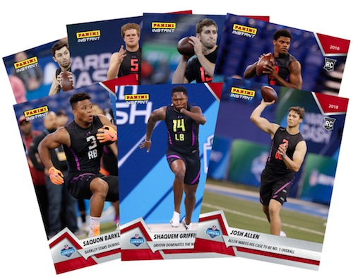 2018 Panini Instant NFL Football Cards 1