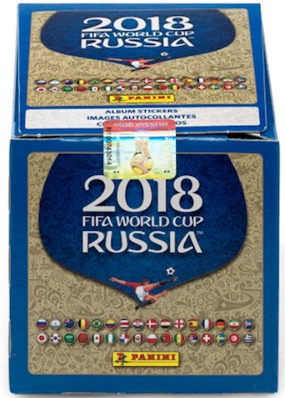 2018 Panini World Cup Stickers Collection Russia