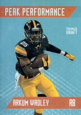 2018 Sage Hit Premier Draft Low Series Football Cards 25
