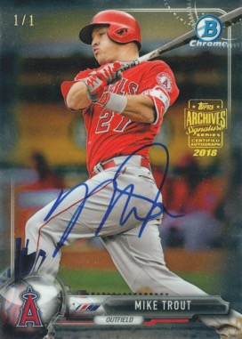 2018 Topps Archives Signature Series Active