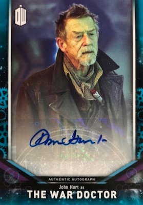 2018 Topps Doctor Who Signature Series Trading Cards 21