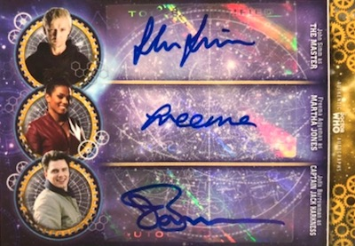2018 Topps Doctor Who Signature Series Trading Cards 23