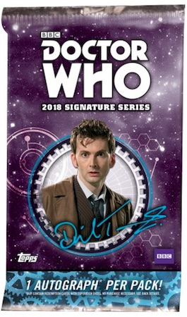 2018 Topps Doctor Who Signature Series Trading Cards 2