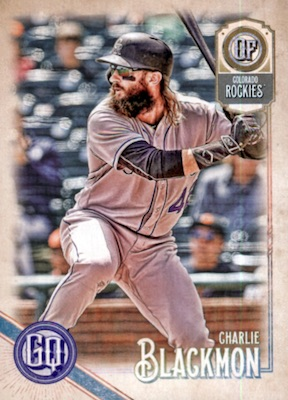 2018 Topps Gypsy Queen Baseball Variations Guide 67