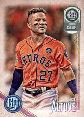2018 Topps Gypsy Queen Baseball Variations Guide 98