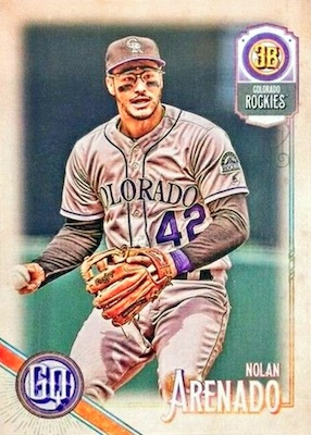 2018 Topps Gypsy Queen Baseball Variations Guide 69