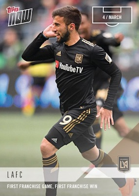 2018 Topps Now MLS Soccer Cards - MLS Cup Final 1