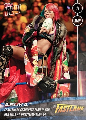 2018 Topps Now WWE Wrestling Cards 5