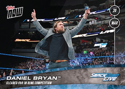 2018 Topps Now WWE Wrestling Cards 6