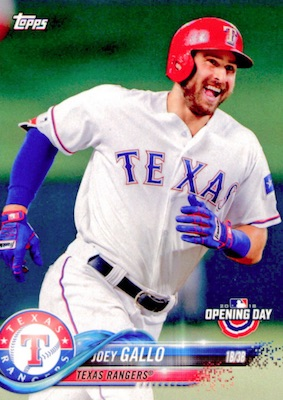 2018 Topps Opening Day Baseball Variations Gallery 44