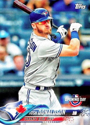 2018 Topps Opening Day Baseball Variations Gallery 46
