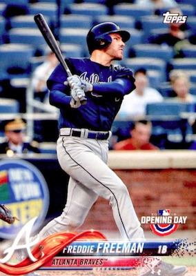2018 Topps Opening Day Baseball Variations Gallery 54