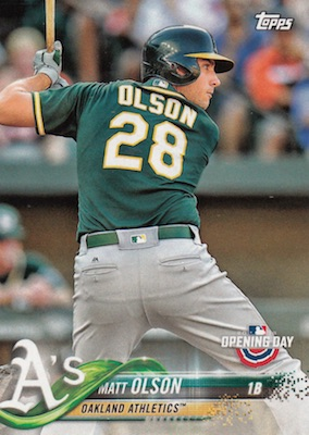 2018 Topps Opening Day Baseball Variations Gallery 58