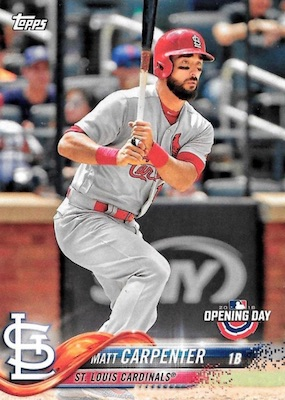 2018 Topps Opening Day Baseball Variations Gallery 60