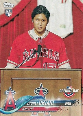 2018 Topps Opening Day Baseball Cards 3