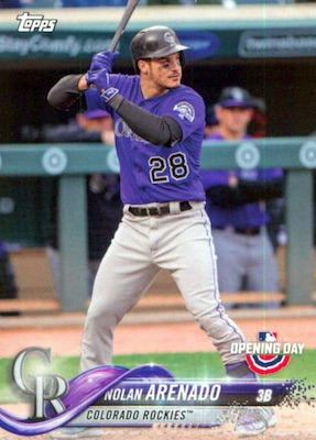 2018 Topps Opening Day Baseball Variations Gallery 18