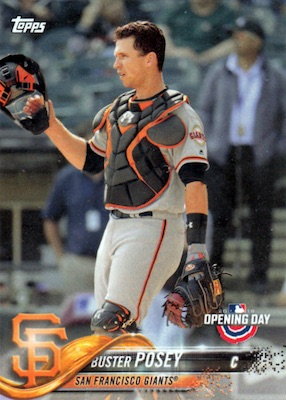 2018 Topps Opening Day Baseball Variations Gallery 8