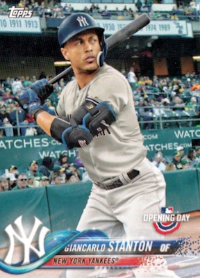 2018 Topps Opening Day Baseball Variations Gallery 24