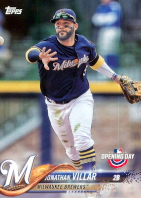 2018 Topps Opening Day Baseball Variations Gallery 26