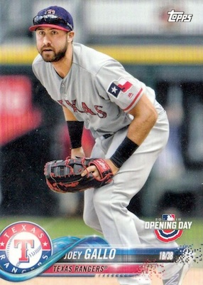 2018 Topps Opening Day Baseball Variations Gallery 45