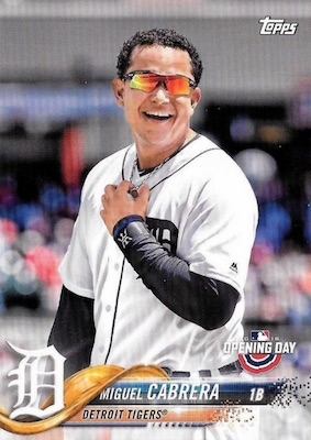 2018 Topps Opening Day Baseball Variations Gallery 21