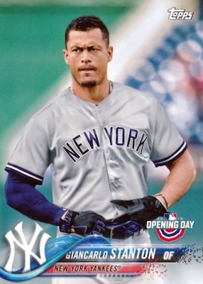 2018 Topps Opening Day Baseball Variations Gallery 25