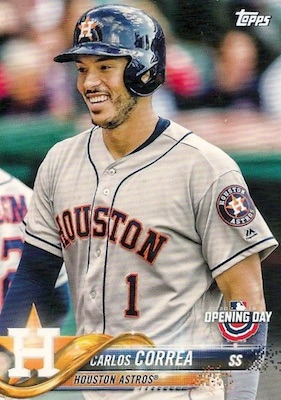 2018 Topps Opening Day Baseball Variations Gallery 11