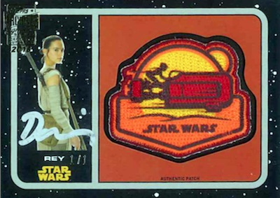 2018 Topps Star Wars Archives Signature Series