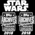 2018 Topps Star Wars Archives Signature Series Trading Cards