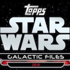 2018 Topps Star Wars Galactic Files Trading Cards