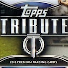 2018 Topps Tribute Baseball Cards