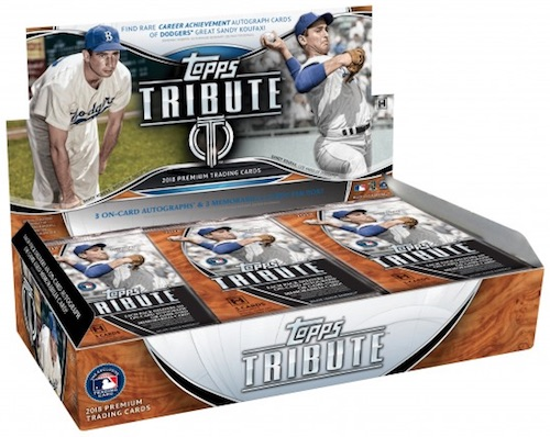 2018 Topps Tribute Baseball Cards 39