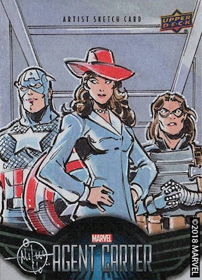 Upper Deck Agent Carter