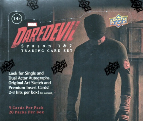 Site Contest: Win a Free Upper Deck Daredevil Hobby Box - Winner Picked 1