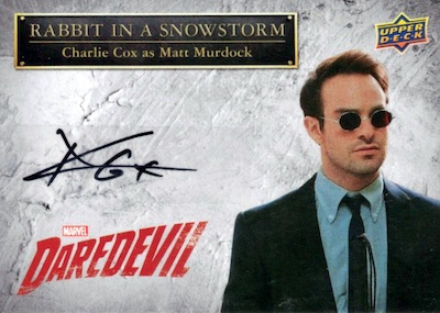 2018 Upper Deck Daredevil Season 1 & 2 Trading Cards 6