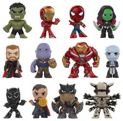 2018 Funko Avengers Infinity War Mystery Minis 2