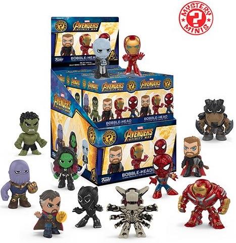2018 Funko Avengers Infinity War Mystery Minis 1
