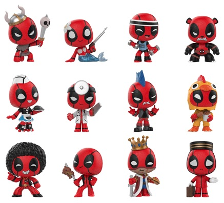 2018 Funko Deadpool Mystery Minis 2