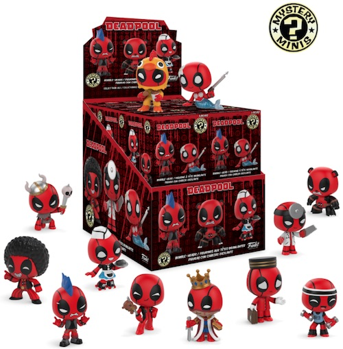 2018 Funko Deadpool Mystery Minis 1