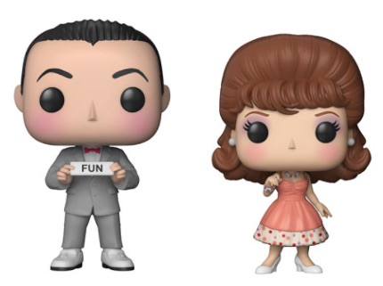 2018 Funko Pop Pee-wee's Playhouse Vinyl Figures 1