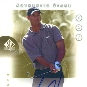 Top Tiger Woods Golf Cards Rookie Cards Autographs Gallery Details