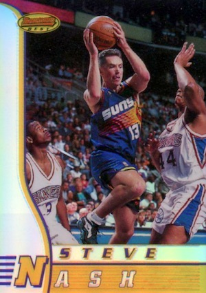 Hall of Fame Bound! Top Steve Nash Basketball Cards 4
