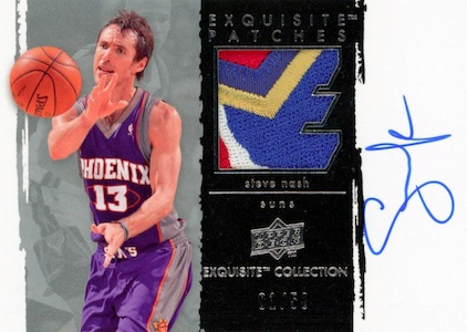 Hall of Fame Bound! Top Steve Nash Basketball Cards 11